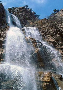 Водопад Учан-Су. Ялта.