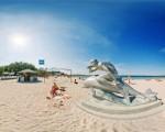 Пляж Черноморского —
